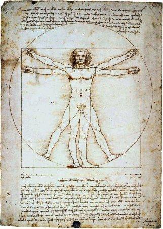 Vitruvius Sketch