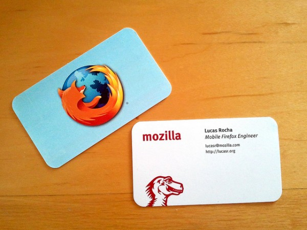 You Are Your Business Card Architecture Indeed