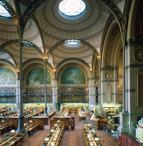 Bibliothèque Sainte-Geneviève by Labrouste