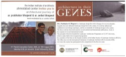 Invitation to Prabhakar B Bhagwat lecture