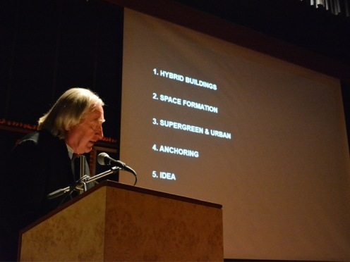 Steven Holl at Nirma University _ Urban Hopes 18 Mar 2015