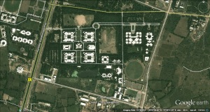 NIRMA UNIVERSITY site plan
